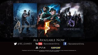 Resident Evil 4, 5, 6 - Modern Hits Launch Trailer | PS4