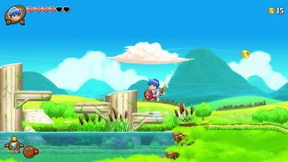 Monster Boy And The Cursed Kingdom - Debut Gameplay Trailer