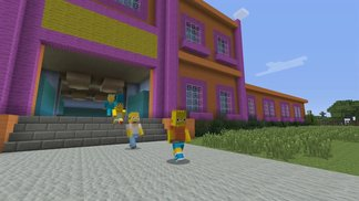 Minecraft - The Simpsons DLC Trailer