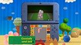 Poochy & Yoshi's Woolly World - Trailer zu den neuen Funktionen (Nintendo 3DS)