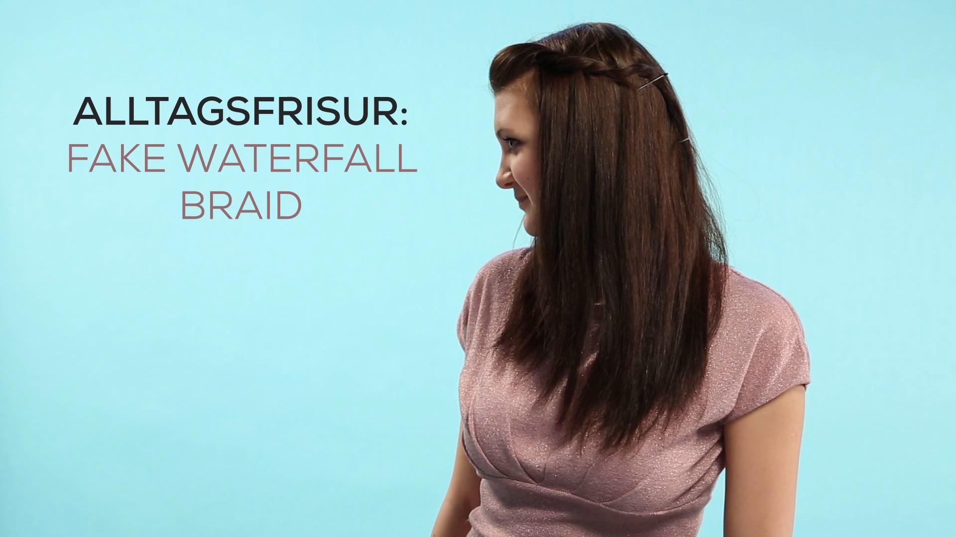 Frisuren für den Alltag- Fake Waterfall Braid_EL.mp4: image 0