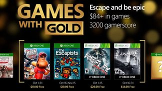 Xbox Games with Gold - Oktober 2016
