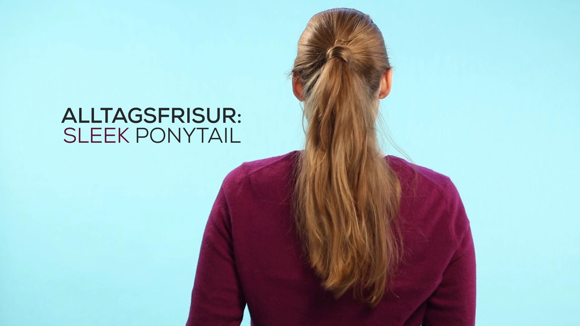 Fisuren für den Alltag- Sleek Ponytail_EL.mp4: image 0