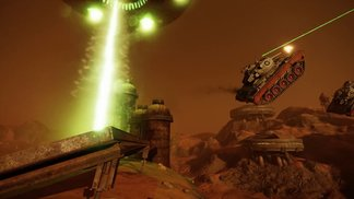 World of Tanks Console - Mars Mode