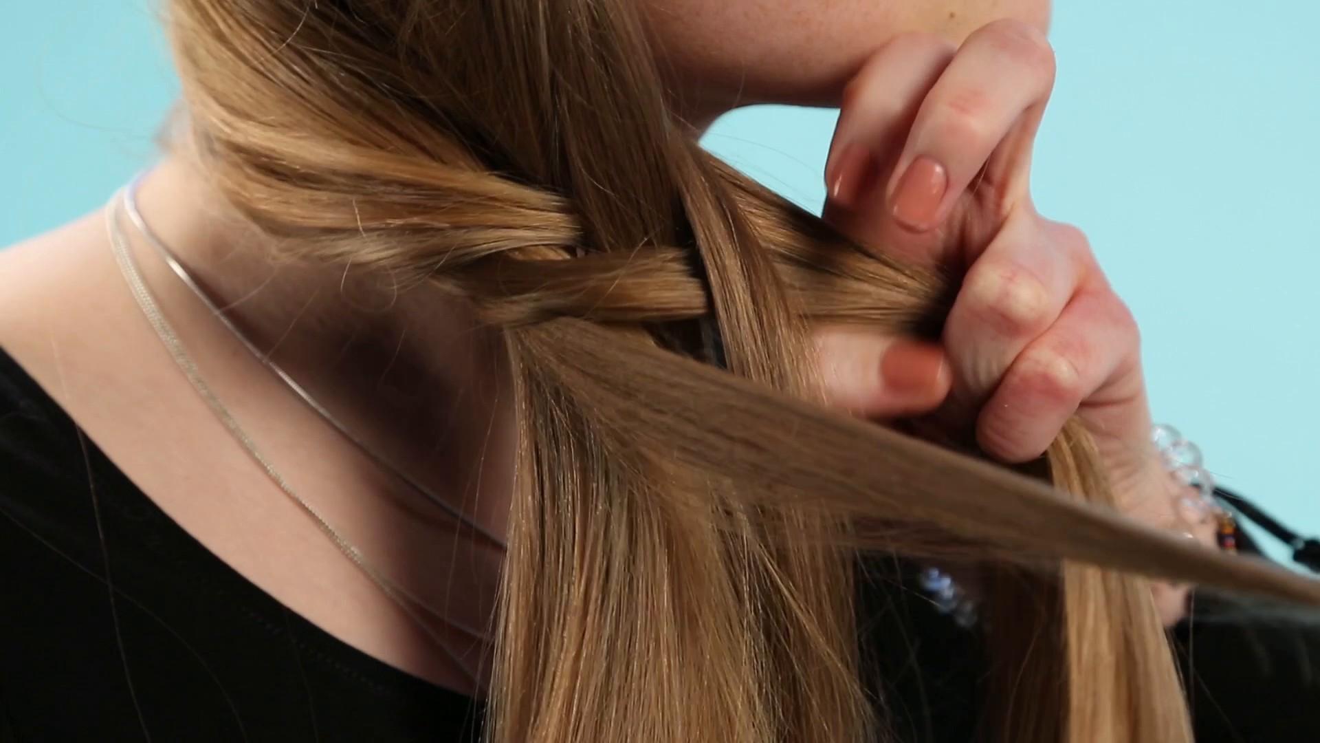 Frisur für lange Haare- Verspielter Zopf_EL.mp4: main image
