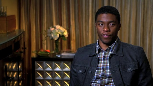 Chadwick Boseman - James Brown -  über seine Rolle - OV-Interview Poster