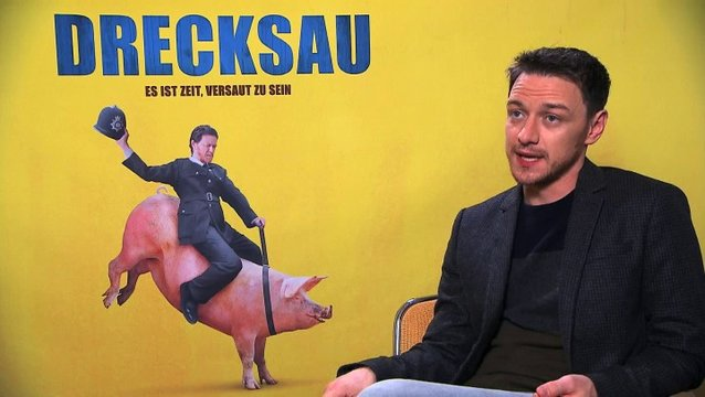 James McAvoy über den Humor des Films (2) - OV-Interview Poster