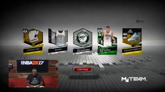 NBA 2K17 - MyTEAM Pack Opening Trailer