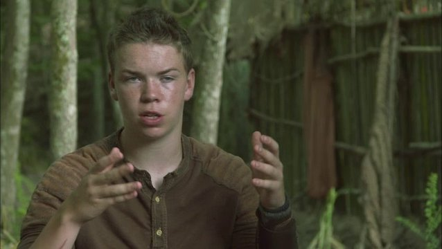 Will Poulter - Gally - über die Film Adaption - OV-Interview Poster