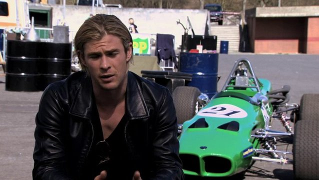 Chris Hemsworth -James Hunt-über seine Vorbereitung - OV-Interview Poster