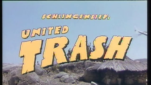 United Trash (DVD-Trailer) Poster