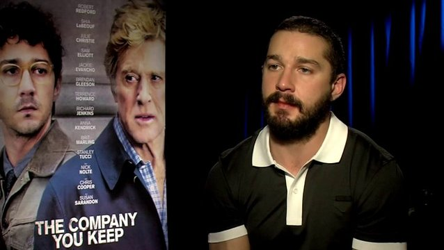 Shia Labeouf -Ben Shepard- was ihn an dem Film interessiert hat - OV-Interview Poster