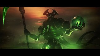 Last Stand Necron Overlord - Warhammer 40,000  Dawn of War 2 -  Retribution