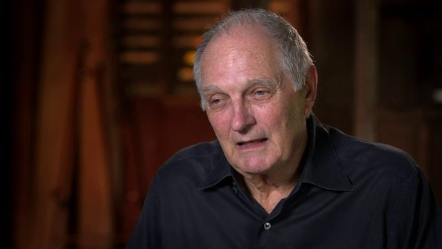 Alan Alda über Liebesbriefe - OV-Interview Poster