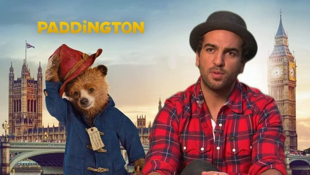 Elyas Mbarek - Stimme von Paddington - über Paddingtons Missgeschicke - Interview Poster