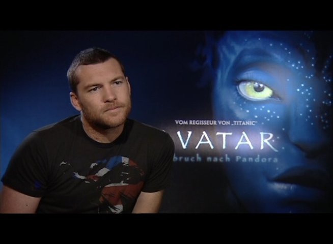 Interview mit Sam Worthington - OV-Interview Poster