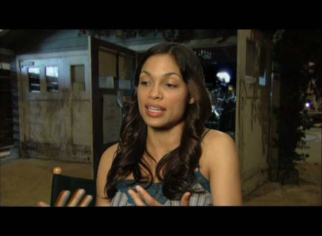 Interview mit Rosario Dawson (Emily) - OV-Interview Poster