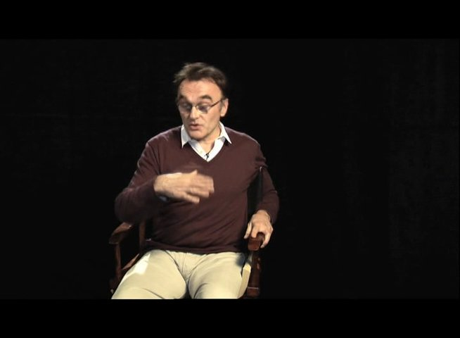 Danny Boyle über die extreme Fitness Arons - OV-Interview Poster