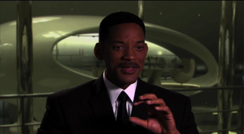 Will Smith über die Aliens in den 60ern - OV-Interview Poster