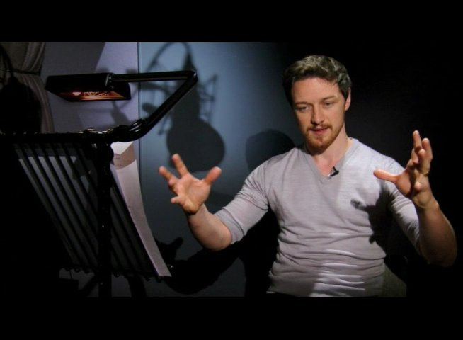 James McAvoy über die Rolle Arthur - OV-Interview Poster