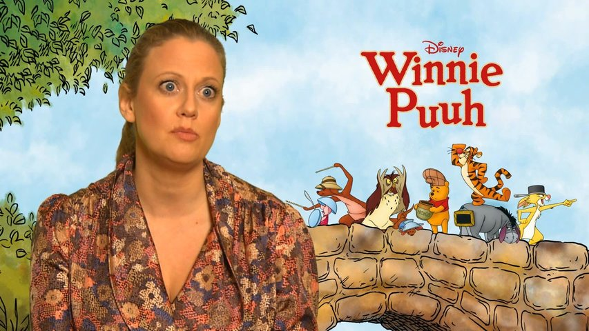 Barbara Schöneberger über Winnie Puuh - OV-Interview Poster