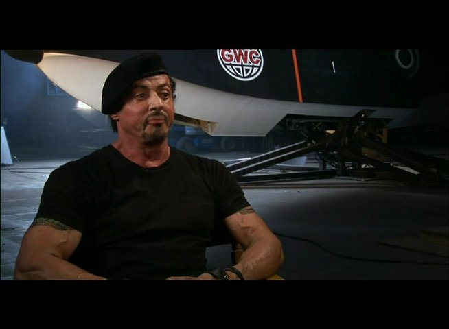 Sylvester Stallone über die Story - Teil 1 - OV-Interview Poster