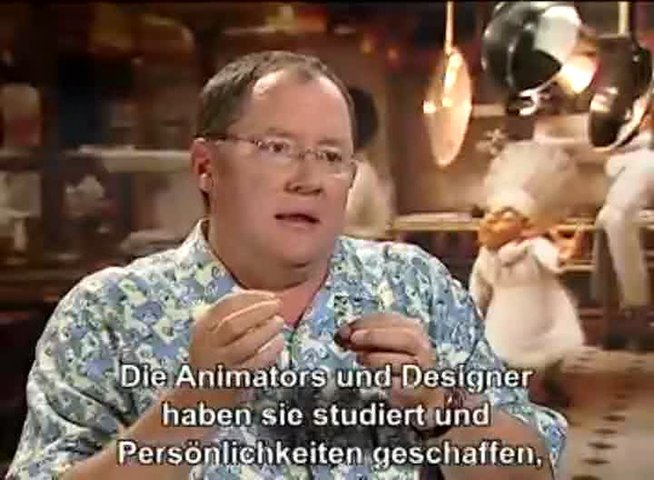 Interview mit John Lasseter - OV-Interview Poster