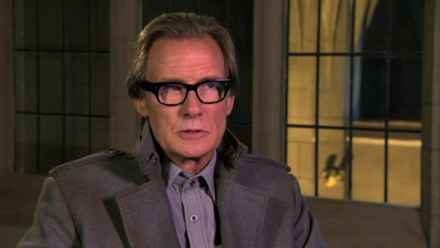 Bill Nighy das Filmset der Zentrale - OV-Interview Poster