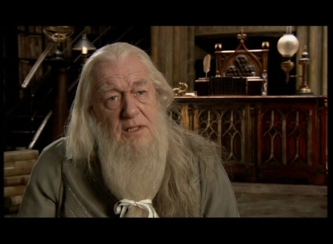 Michael Gambon - Professor Albus Dumbledore - OV-Interview Poster