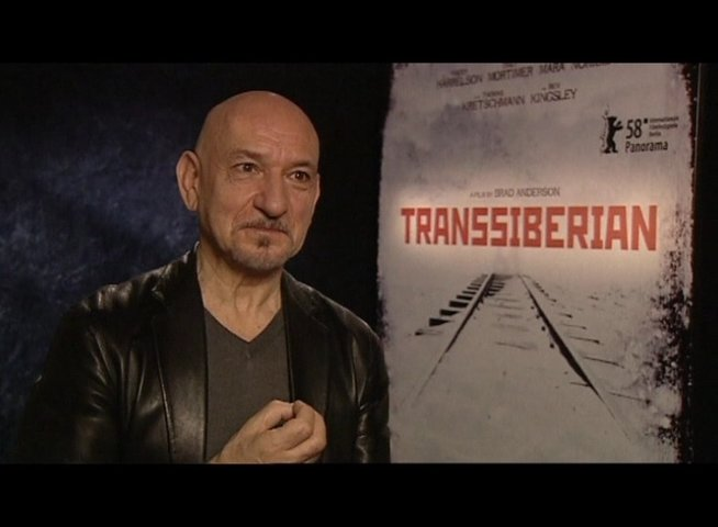 Interview mit Ben Kingsley (Grinko) - OV-Interview Poster