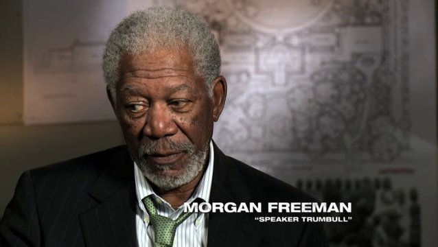 Morgan Freeman über die Politik - OV-Interview Poster