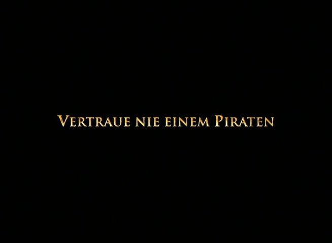 Pirates of the Caribbean - Fluch der Karibik 2 - Teaser Poster