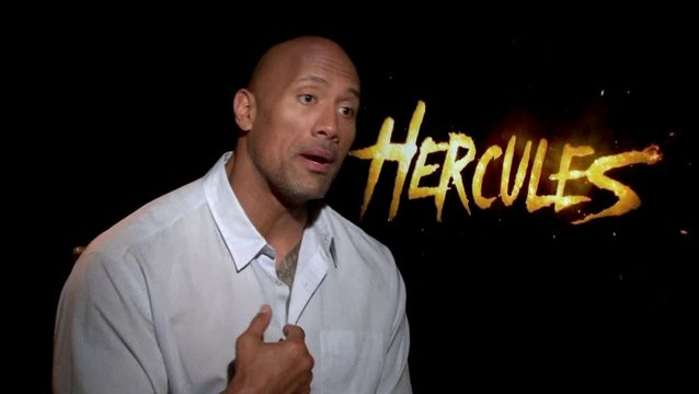 Dwayne Johnson - Hercules - über den Cast - OV-Interview Poster