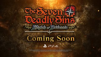 The Seven Deadly Sins - Knights of Britannia - PS4 - Ankündigungs-Trailer