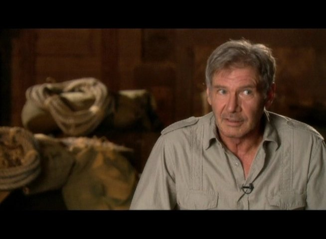Interview mit Harrison Ford (Indiana Jones) - OV-Interview Poster