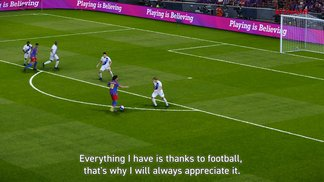 Gameplay-Trailer mit den Stars vom FC Barcelona