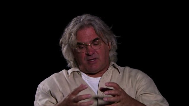 Paul Greengrass - Regie - über die Story - OV-Interview Poster