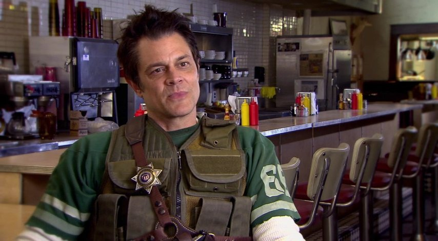 Johnny Knoxville (Lewis Dinkum) über den Regisseur - OV-Interview Poster
