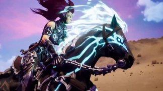 """""""Rampage"""" das schwarze Pferd der apokalyptischen Reiterin """"Fury"""""""