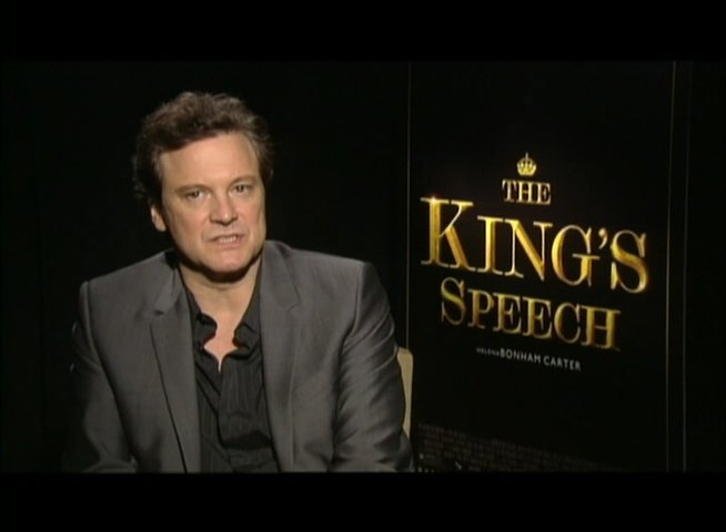 Colin Firth (King George VI) über die Themen des Films - OV-Interview Poster