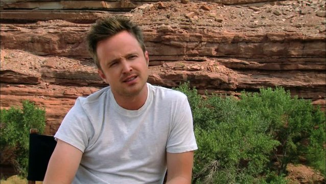 Aaron Paul - Tobey Marshall -  über Tobey Marshall - OV-Interview Poster
