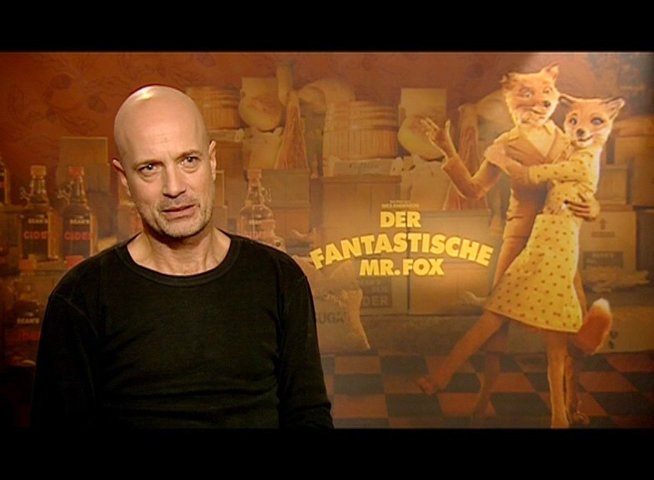 Christian Berkel über George Clooney als Mr Fox Originalstimme - Interview Poster