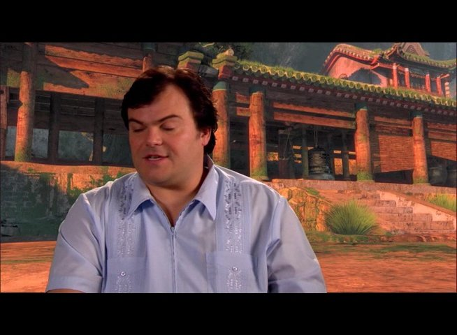 Jack Black (Originalstimme Po) über den Film - OV-Interview Poster