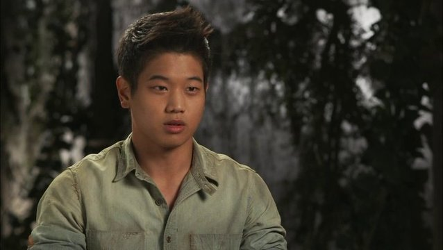 Ki Hong Lee - Minho - über die Locations - OV-Interview Poster