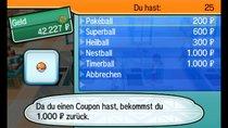 Pokémon Sonne und Mond - Unendlich Pokébälle farmen