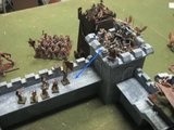 236 Empire & Dwarfs vs Beastmen Castle Siege