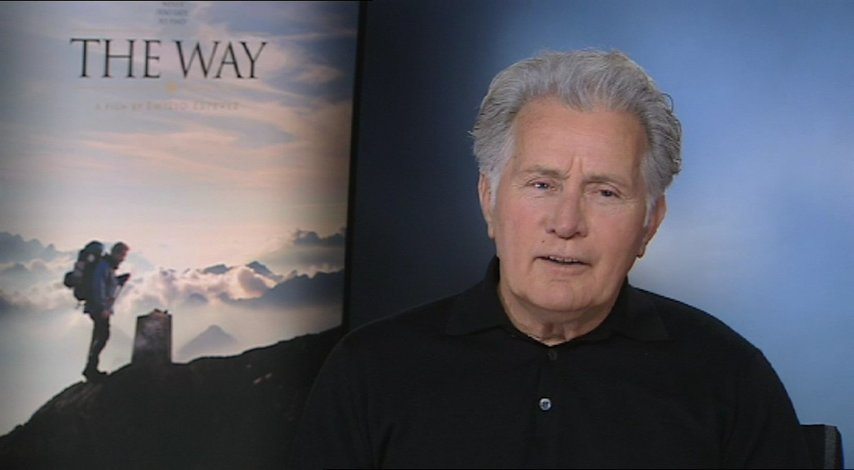 Martin Sheen über die Reise - OV-Interview Poster