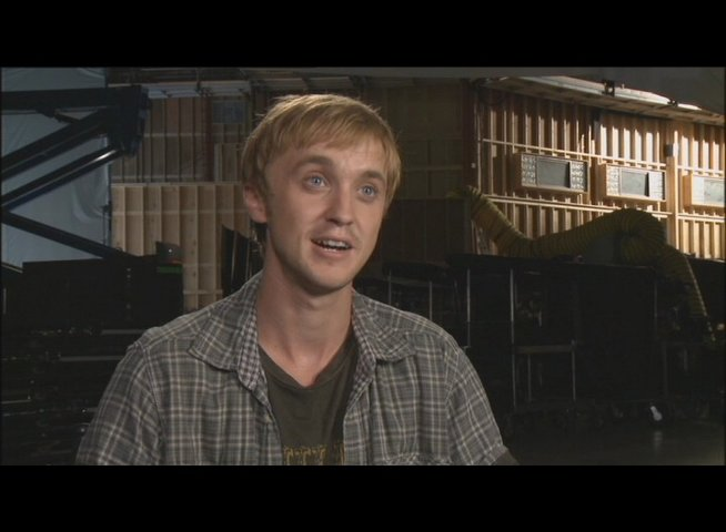 Tom Felton (Dodge Landon) über die Arbeit mit Performance Capture - OV-Interview Poster