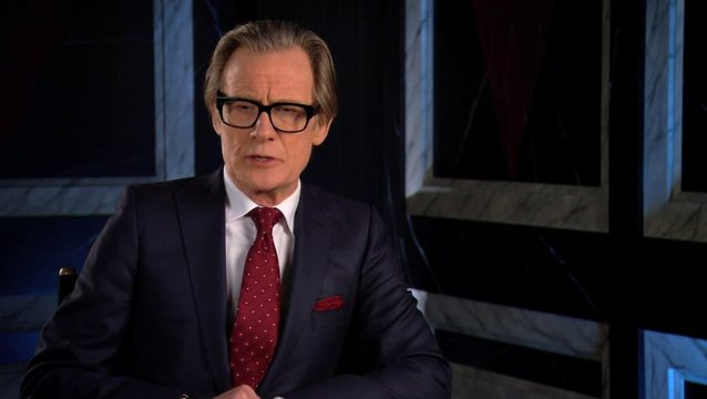 Bill Nighy über Stuart Beattie - OV-Interview Poster
