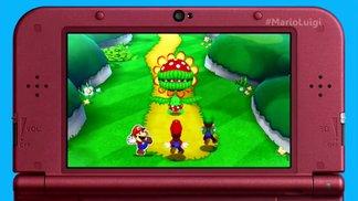 Mario & Luigi: Paper Jam - E3 Trailer